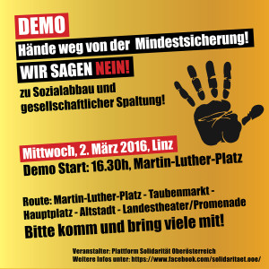 Demo Flyer Quadrat