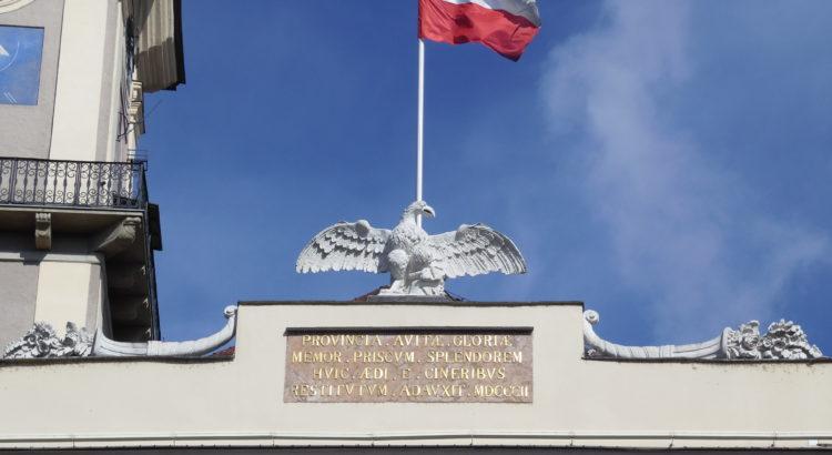 Bild Fahne Landhaus