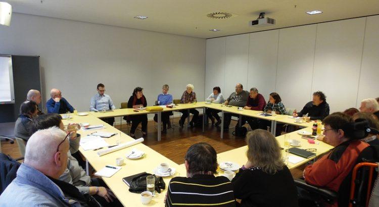 Bild vom Austauschtreffen